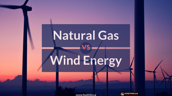 Natural Gas Vs. Wind Electricity
