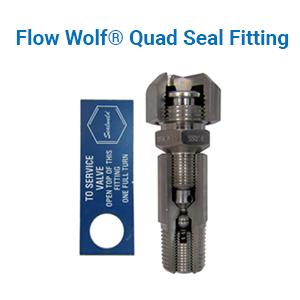 Sealweld Flow Wolf Quad Seal Fitting