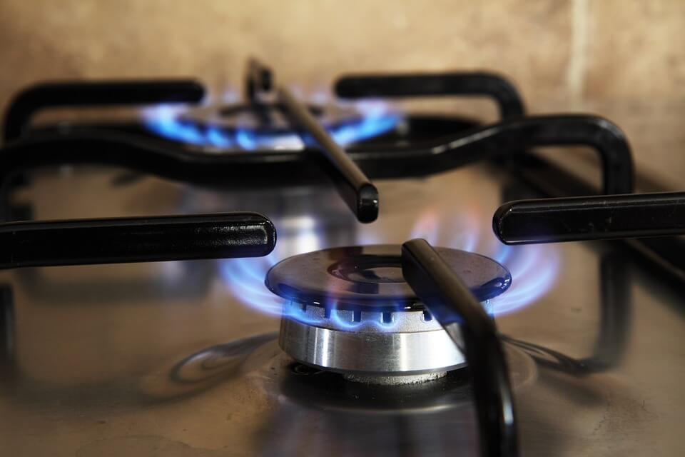 natural gas- appliance burner